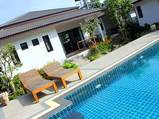 New 2 Bedroom & Pool near Beach, Lamai Beach