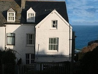 Large House with exceptional sea views, Port Isaac