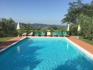 Villa I Leoni Between Florence Sienna and Pisa  - 1 km to village -  Aircond.