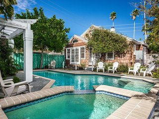 Historical Pass-a-Grille Cottage | Rustic cottage with private pool, steps from the beach, St. Pete Beach