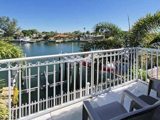 Sun Harbor #207 | Waterfront, patio, beach across the street