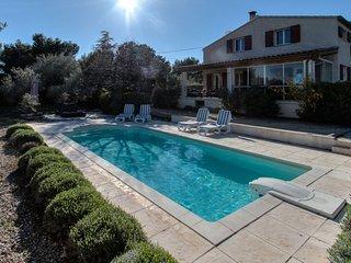 Vakantievilla met zwembad en zicht op Mont Ventoux! - 10 pp, Bedoin