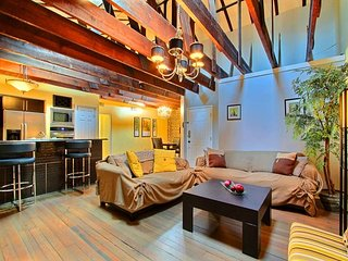 Location! Location! Location! This Wonderful Broughton Street Loft has it all