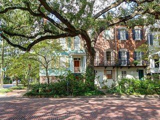 Perfectly located, grand Savannah Style home in the heart of the historic dis
