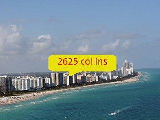 Miami Beach, right on the beach