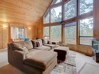 Dog-friendly mountain cabin w/ gorgeous natural surroundings & cozy atmosphere!