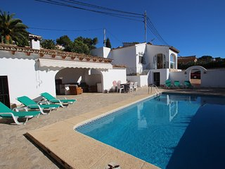 Mabruka - charming, Spanish finca style holiday villa in Benissa