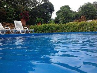 El Retiro  Barichara  apto.103 .vistas a la piscina.