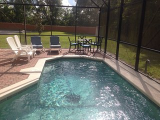 4 Bed 3 Bath house, near Disney, private pool BV5