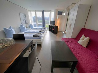 LU Nadelwehr IV - Allmend HITrental Apartment Lucerne