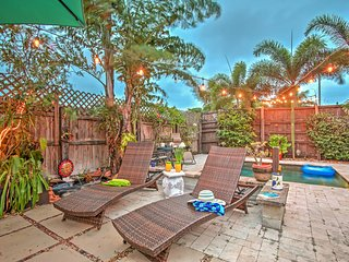 Tropical 3BR Lake Worth House w/Private Pool!