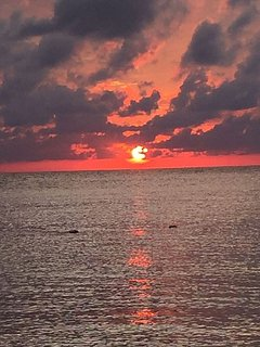 ENJOY THE MOST PICTURESQUE SUNSETS FROM THE PRIVATE BEACH