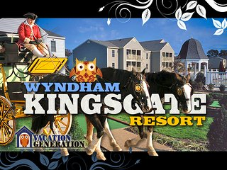 Wyndham Kingsgate 2BR/2BA ツ Equipped Condo in Williamsburg Virginia