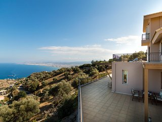 Omikron Seaview Villa, Rodia Heraklion Crete, Linoperamata