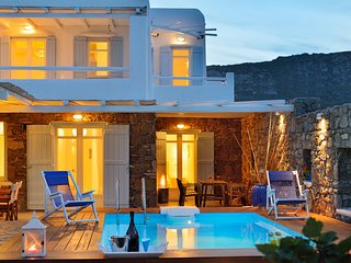 3 Bedroomed Villa With Private Pool and Sea View In Mykonos,Greece-215