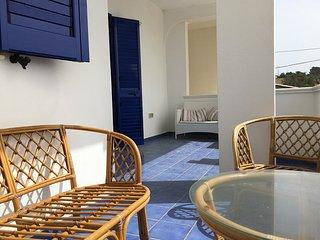 Trilocale in residence Azzurro