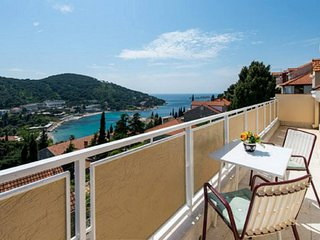 Admiral 2 bedroom with balcony and sea view, Dubrovnik