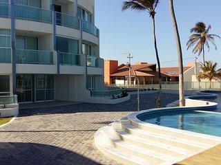 Lindo apartamento beira-mar Barra de São Miguel