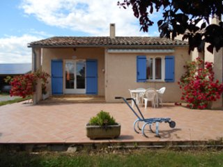 villa le Rossignol, vacation rental in Sigoyer