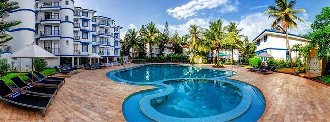Royal Palms Beach Club - Benaulim ; 1 Bedroom Suite; Sleeps 4