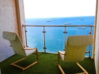 Superbe Appartement sea view (Vue-sur-Mer). Oran, Gambetta