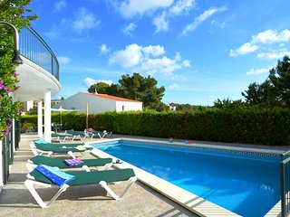 Villa Azucena in Cala Galda just a few minutes from the beach