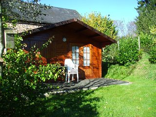 Le Petit Papillon - campsite  & chalets for rent in the Morvan, Burgundy, France, Anost