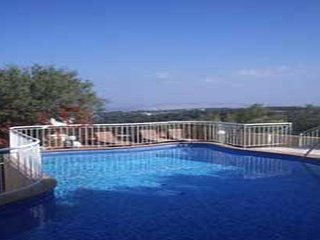 Stunning villa with private pool,amazing sea view,3 bedrooms, BBQ
