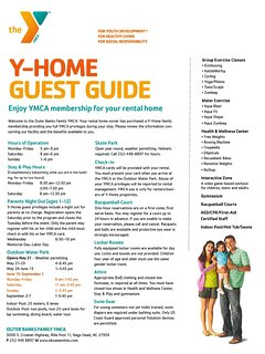 Your rental now includes complimentary use of the Nags Head YMCA for your stay (a $95 value)