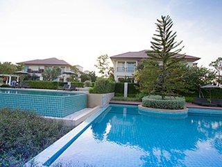 Beach front pool villa at Escape home