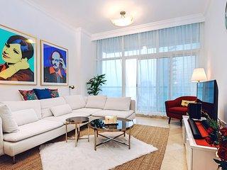 New 1BR Brand Hotel Apartment Style 300m to JBR Beach, Dubai