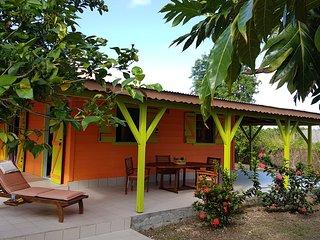 Maison creole dans ravissant jardin