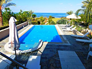 Beach Front -Private Sandy Beach -Superior Exclusive Luxury Villa -Infinity Pool, Polis