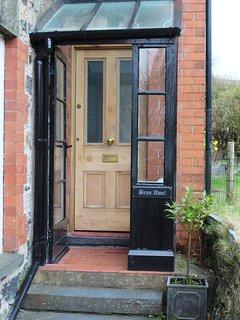 Entrance to Bryn Awel.