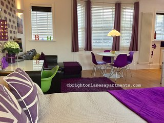 Brighton Lanes Apartment 3: Fabulous studio flat in the heart of The Lanes!
