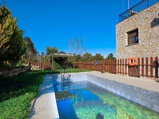 Stone Pool Cretan Mansion