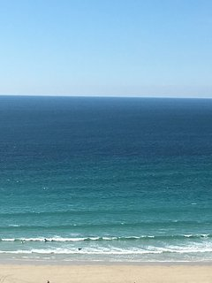 Enjoy the surf coming straight off the Atlantic.