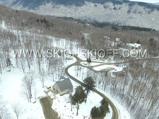 THE MATTERHORN HOUSE- ski on ski off Great Eastern Ski Trail, Killington
