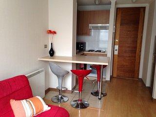 Acogedor Apartamento santa Rosa. Metro Santa Lucia, centro De Santiago
