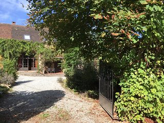 Superb 18th Century Coach House with Private Heated Pool in Secluded Valley, Dompierre-les-Eglises