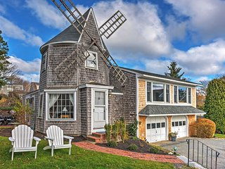 Chatham Windmill Cottage w/ Oyster Pond Views!