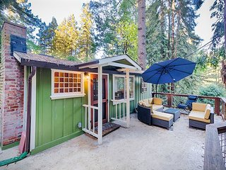 """3BR, 3.5BA Guerneville """"Tree"""" House with 3 Levels"""