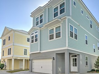 4BR Myrtle Beach House Steps from Beach!