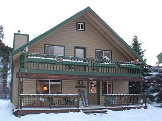 San Juan River House is right on the river in the San Juan River Village., Pagosa Springs