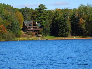 Luxury Lakefront Cabin On 5,000 Acre -Lac Courte Oreilles, Hayward's Finest Lake