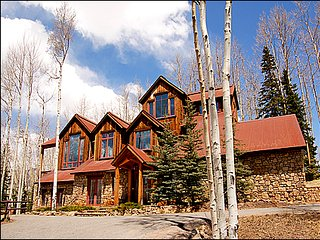 Fantastic Mountain Home - Secluded Location (6110), Telluride