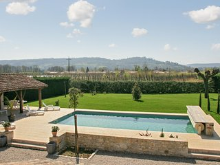 Rustic house in Lot-et-Garonne, in the heart of French wine country, with terrace and private pool, Saint Sylvestre sur Lot