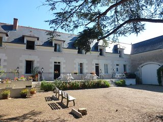 Cosy flat in the Loire Valley, with 2 bedrooms, WiFi & shared pool – 1.5km from Château de Chenonceau!, Chisseaux