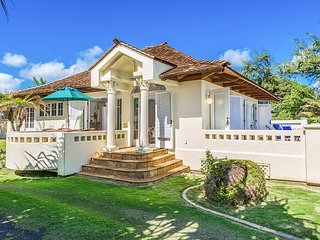 """HEAVENLY BEACH HOME"", ENJOY OCEANFRONT LIVING, SPRING STAY SPECIALS!, Kapaa"