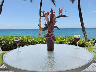 One of Kauai's most amazing oceanfront condo, Poipu Shores 103A, 2bd/2ba, Koloa